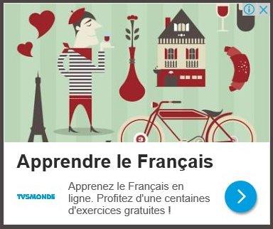 Copie d'écran sur larousse.fr